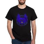 BLUE SKULL 13 Dark T-Shirt