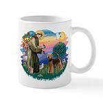 St Francis #2/ Airedale Mug