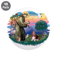 St Francis #2/ Basset Hound 3.5