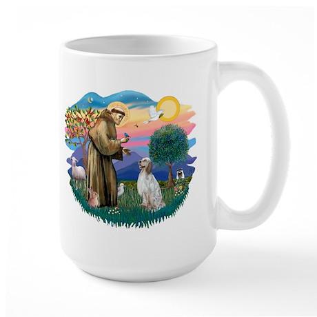 St Francis #2/ English Set. Large Mug