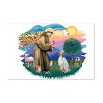 St Francis #2/ English Set. Mini Poster Print