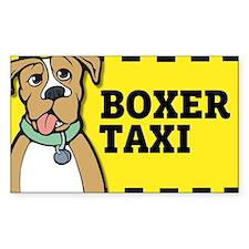 Boxer Taxi Decal