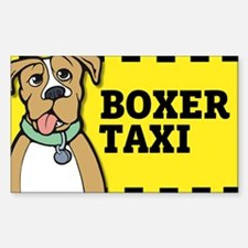 Boxer Taxi Decal