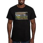 Boomershoot 2010 Men's Fitted T-Shirt (dark)