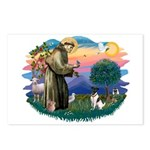 St Francis #2/ Fox Terrier Postcards (Package of 8