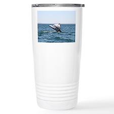 Travel Mug-Whale (Gray)