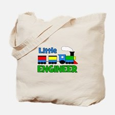 Little Engineer Trains! Tote Bag