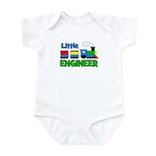 Little Engineer Trains! Infant Bodysuit