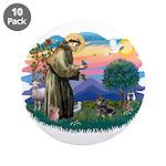 St Francis #2/ Dachshund (BT) 3.5