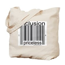 Inclusion Priceless Tote Bag