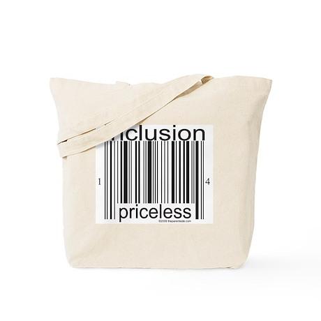 Inclusion Priceless Tote Bag