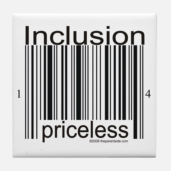 Inclusion Priceless Tile Coaster
