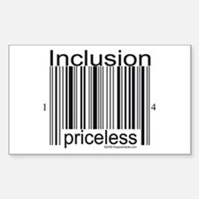 Inclusion Priceless Decal