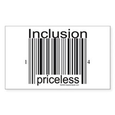Inclusion Priceless Stickers