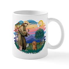 St Francis #2/ Dachshund (LH S) Small Mug