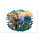St Francis #2/ Cairn (br) Postcards (Package of 8)