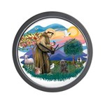 St Francis #2/ Cairn (br) Wall Clock