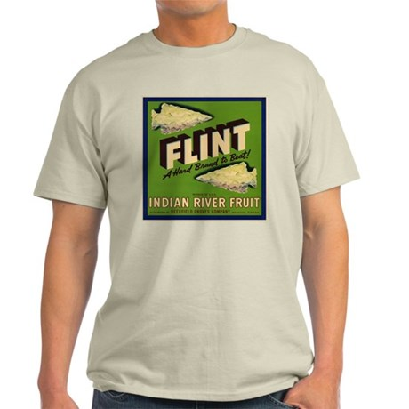Flint Fruit Crate Label Light T-Shirt
