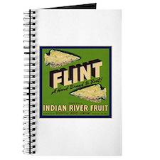 Flint Fruit Crate Label Journal
