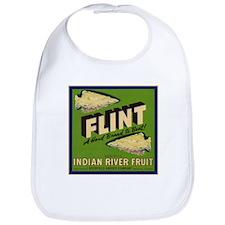 Flint Fruit Crate Label Bib