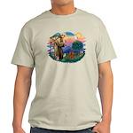 St Francis #2/ Cavalier (r) Light T-Shirt