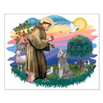 St Francis #2/ Poodle (Std S) Small Poster
