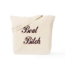 BOAT BITCH Tote Bag