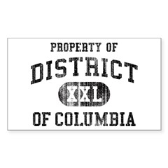 District of Columbia Decal