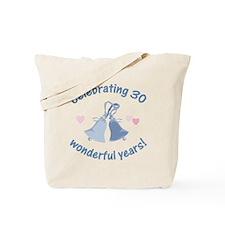 30th Anniversary Bells Tote Bag