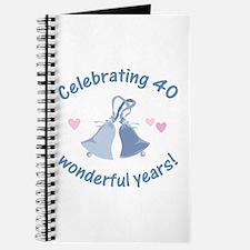 40th Anniversary Bells Journal