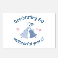 50th Anniversary Bells Postcards (Package of 8)