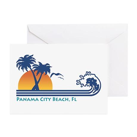 Panama City Beach Greeting Cards (Pk of 10)