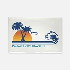 Panama City Beach Rectangle Magnet