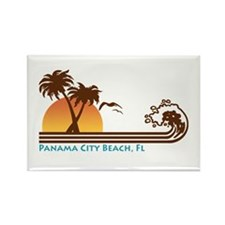 Panama City Beach Rectangle Magnet