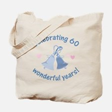 60th Anniversary Bells Tote Bag