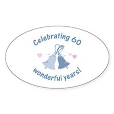 60th Anniversary Bells Decal