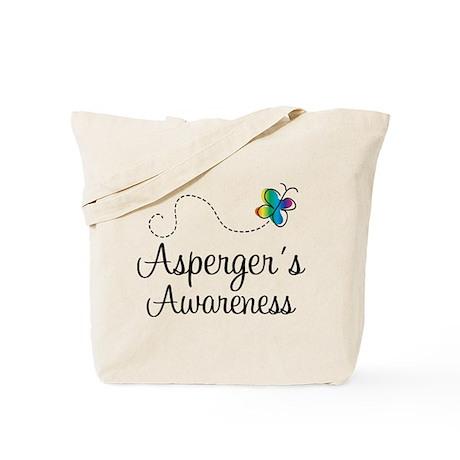 Aspergers Awareness Tote Bag
