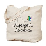 Aspergers boys t shirts Canvas Totes