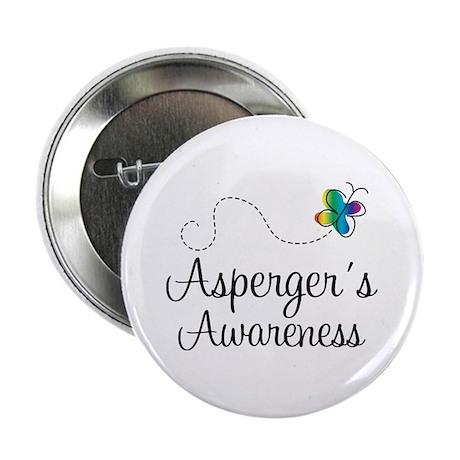 """Aspergers Awareness 2.25"""" Button"""