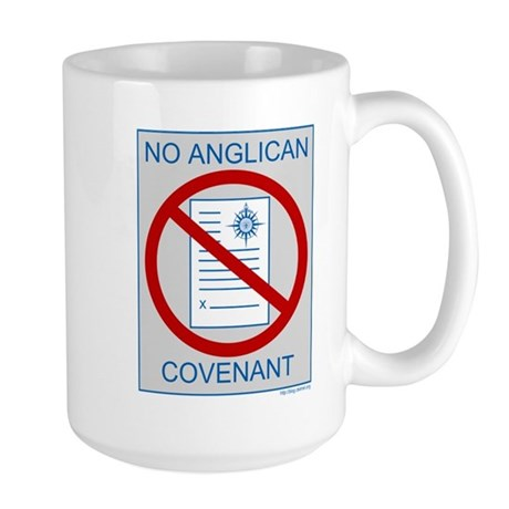 No Anglican Covenant Large Mug
