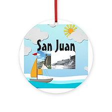 ABH San Juan Round Ornament