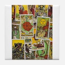 Tarot Tile Coaster