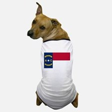 North Carolina Flag Dog T-Shirt