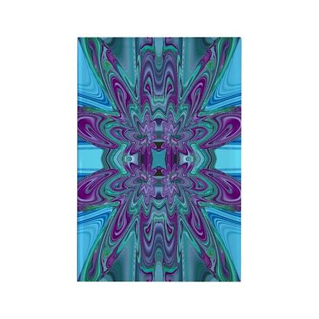 Mesmerizing Blues Rectangle Magnet (10 pack)