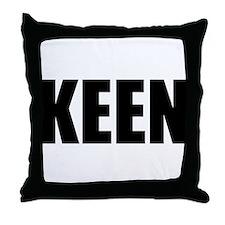 KEEN (Bold) Throw Pillow