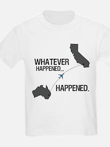 LOST Whatever Happened Flight T-Shirt
