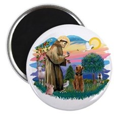 St Francis #2/ Airedale Magnet