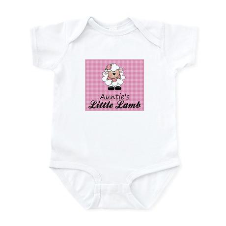 Auntie's Little Lamb (Girl) Infant Bodysuit