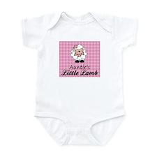 Auntie's Little Lamb (Girl) Onesie