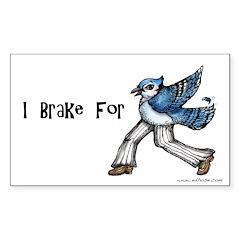 I brake for Jaywalkers